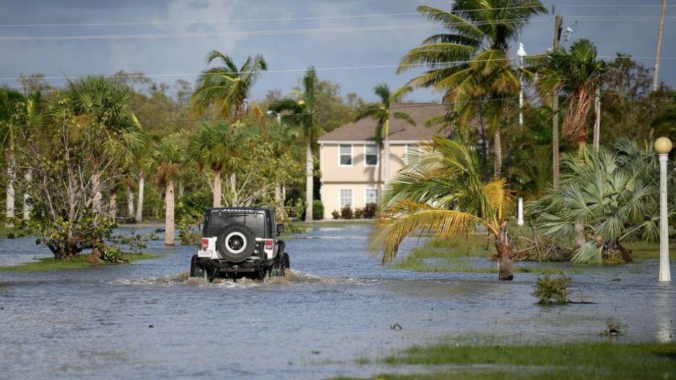'Irma' se despide con innumerables daños