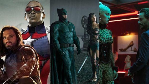 Semana de superhéroes en las principales plataformas de streaming