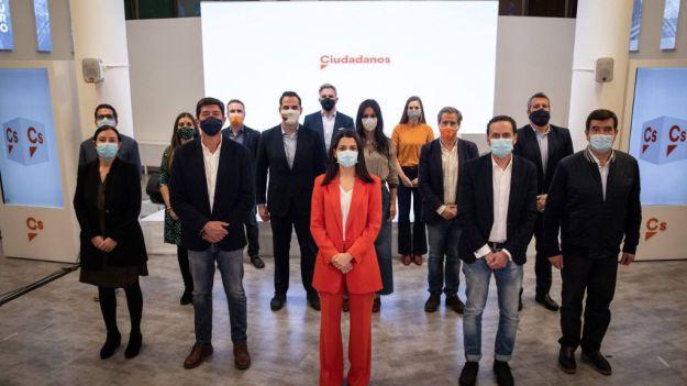 Arrimadas: 'Vamos a seguir defendiendo el proyecto de Ciudadanos con orgullo y responsabilidad'