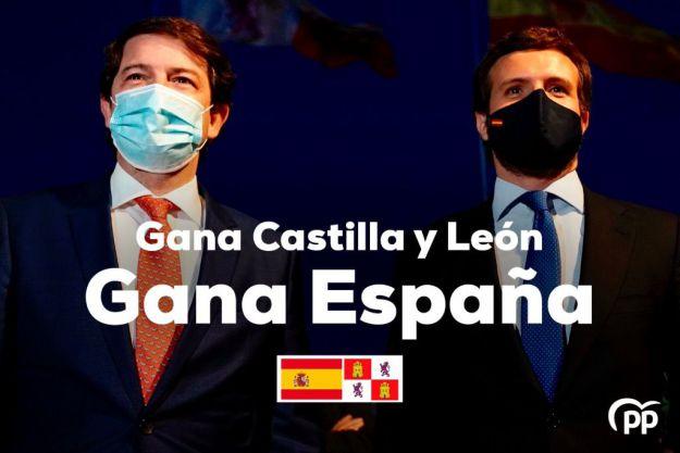 Casado acusa a Sánchez de intentar desestabilizar al PP