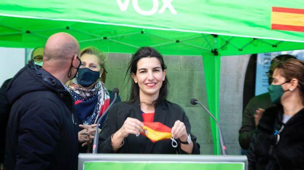 Buxadé: 'Monasterio es la persona que mejor impulsa el proyecto político de VOX en Madrid'