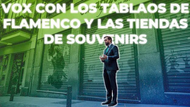 Espinosa de los Monteros reclama medidas para salvar a los tablaos flamencos y las tiendas de souvenirs