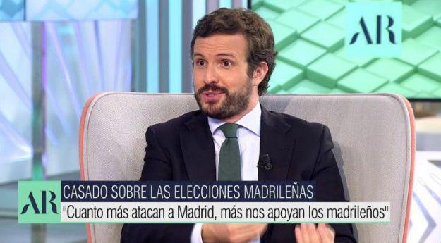 Casado pide a Sánchez que 'dé la cara' en un Pleno monográfico sobre la situación del empleo en España