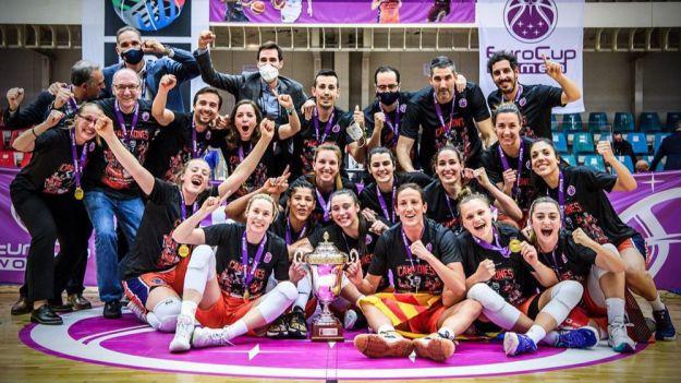 El Valencia BC campeón de la Eurocup Women 2021