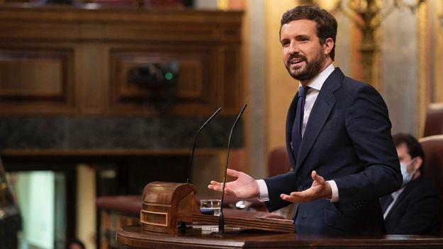 Casado acusa a Sánchez de intentar vender su Plan de Reconstrucción como una 'pizza recalentada'