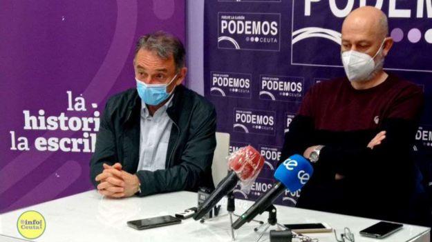 Una inauguración de una sede de Podemos enturbiada por el