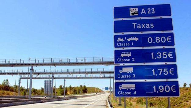 Las autovías portuguesas son de pago. La gasolina a 1.58 y el gasoil a 1.16