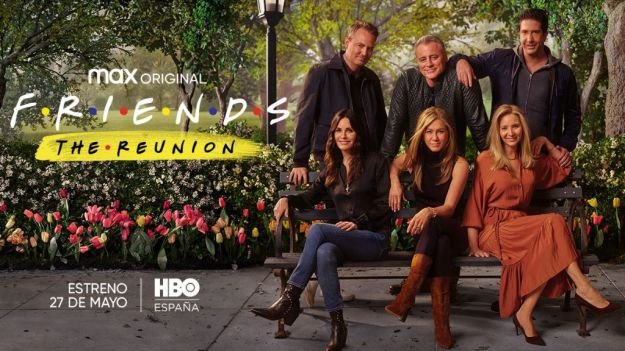 'Friends: The reunion' llega el próximo 27 de mayo a HBO España
