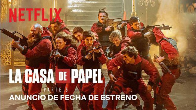 Netflix anuncia el final de 'La casa de papel'
