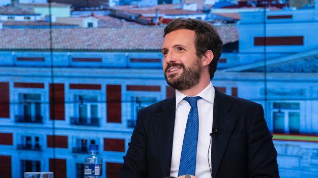 Casado anuncia que el PP se movilizará 'serena pero firmemente' contra los posibles indultos
