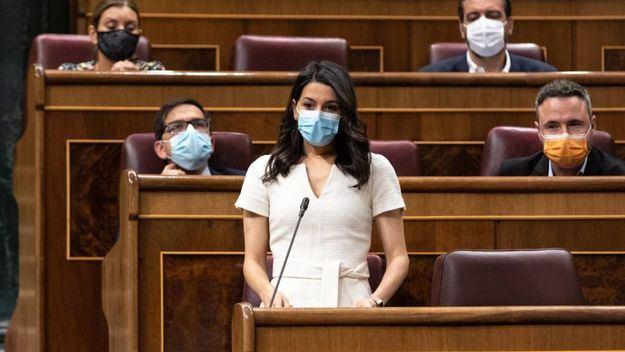 Arrimadas: 'Indultar a los políticos condenados es legitimar que hayan arruinado Cataluña'