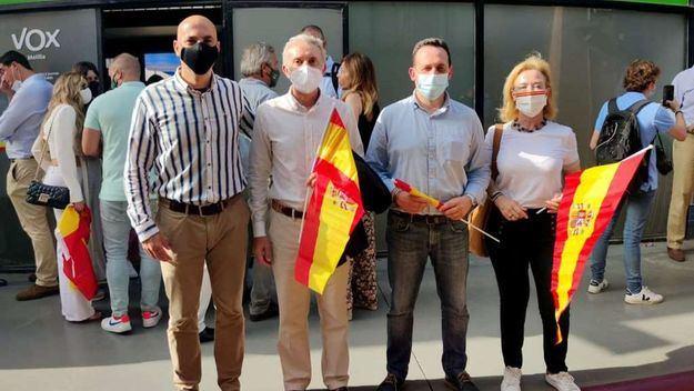 Ortega Smith lanza un mensaje de apoyo contundente a Melilla y Ceuta ante las amenazas de Marruecos
