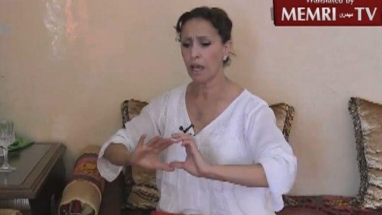 "La polémica Malika Mazan detenida por incitar a ""degollar a árabes"""
