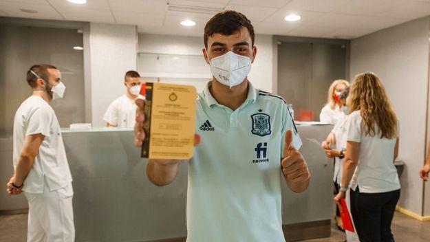 La Selección recibe la vacuna contra el coronavirus