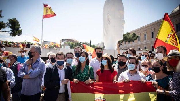 Arrimadas: 'Hoy decimos sí a la justicia, sí a la democracia, sí a Cataluña, sí al conjunto de España, y no a los indultos'