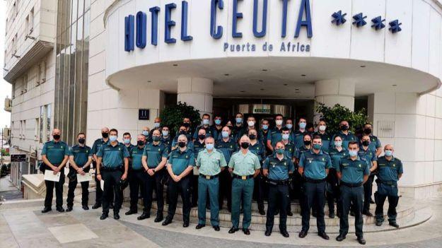 La Comandancia de Ceuta clausura el seminario contra la inmigración irregular