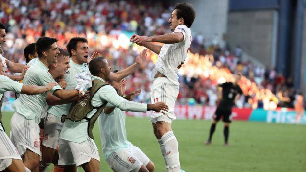 Los pases de España y Suiza a los cuartos de final de la Eurocopa protagonistas de la jornada televisiva