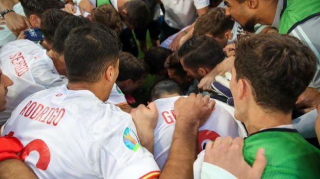 Eurocopa: La Selección española afronta su examen azzurro