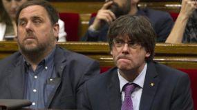 Queda intervenido el autogobierno de Cataluña