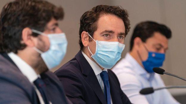 Egea: 'Sánchez sabe que se le acaba el tiempo y de una carrera hacia adelante ha pasado a la cuenta atrás'