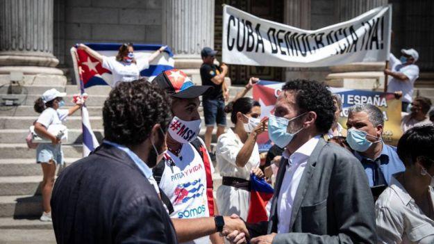Ciudadanos lamenta que el Gobierno no apoye la causa de los demócratas cubanos frente a la tiranía y la dictadura comunista