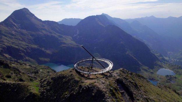 Andorra estrena un nuevo mirador solar en Ordino