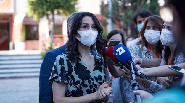Arrimadas: 'Queremos despolitizar el CGPJ para cumplir con lo que pide Europa y dice la Constitución'