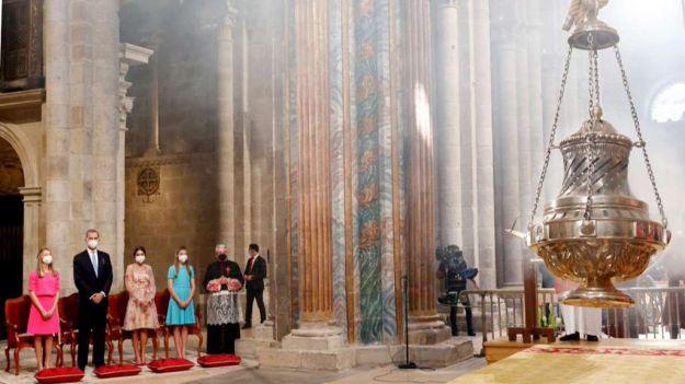 Ofrenda nacional al apóstol Santiago