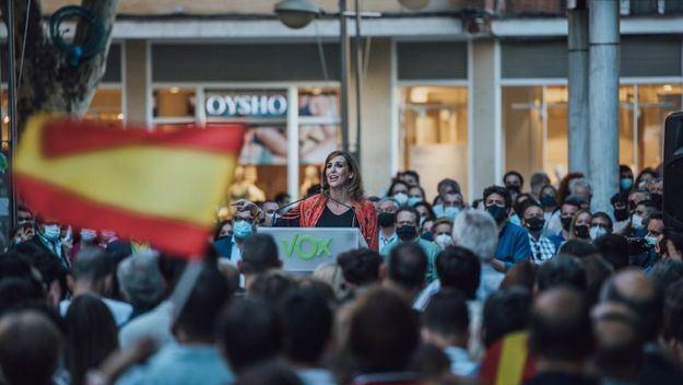 Rueda denuncia que el 'resto de formaciones políticas no ha protegido bien ni a los españoles, ni la propiedad privada'