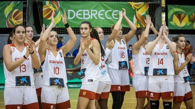 Un gran último cuarto ante Japón mete a la U19 Femenina en cuartos de final