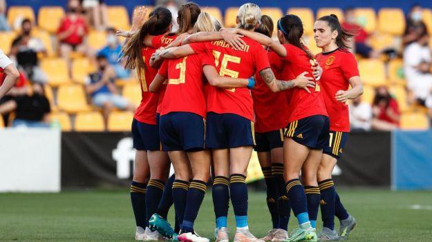 Histórico: La Selección española femenina, por primera vez, entre las diez mejores del mundo