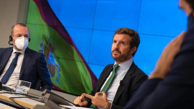 Casado: 'Europa ha dado un bote salvavidas a España y Sánchez lo ha agujereado para dar de beber a sus socios'