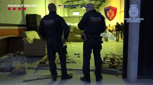 Más de 100 detenidos en una macrooperación contra el crimen organizado de origen albanés