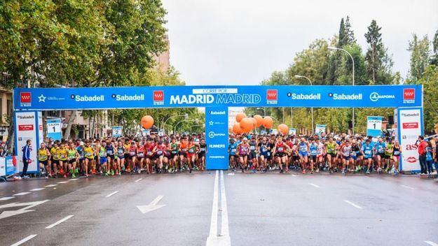 Carrera solidaria 'Madrid corre por Madrid'