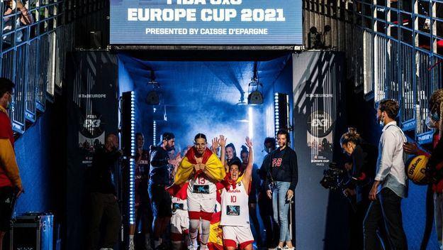 Baloncesto: España hace historia en París