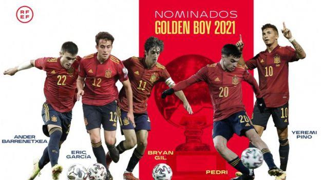 Amplia representación española entre los cuarenta finalistas al Golden Boy