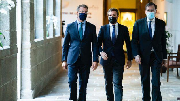 Casado contrapone el programa reformista de Rajoy con el