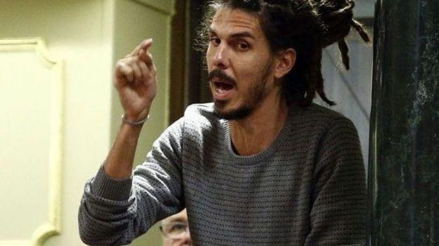 El Supremo condena a un mes y quince días de prisión al diputado de Unidas Podemos Alberto Rodríguez