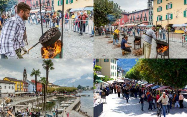Tesino (Suiza): Fiesta de las castañas