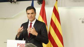 Pedro pide elecciones en Cataluña
