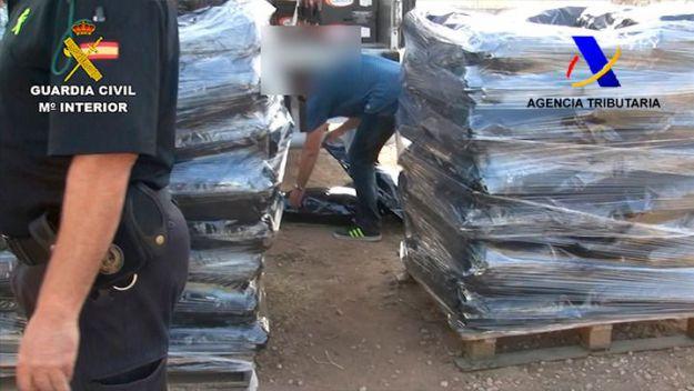 Desarticulada en Granada una organización criminal dedicada al tráfico internacional de marihuana