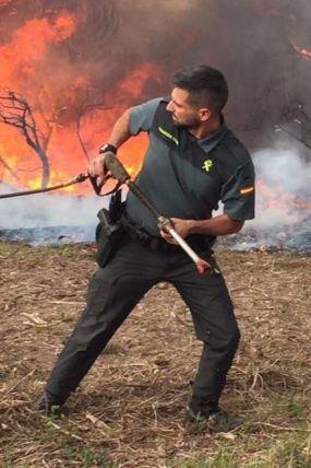 Hacen arder Galicia