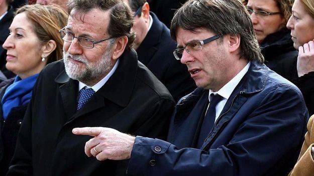 Rajoy quiere que Puigdemont comparezca en el Congreso