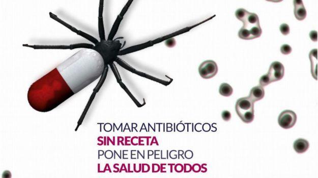 Los antibióticos no son eficaces contra virus como la gripe