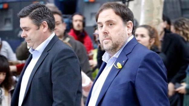 Prisión sin fianza a Junqueras y a otros siete 'exconsellers'