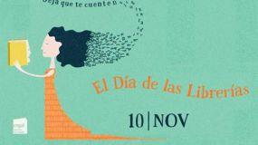 El 10 de noviembre se celebra la VII edición del Día de las Librerías