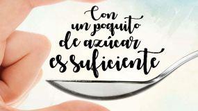 'Con un poquito de azúcar es suficiente', lema de la campaña de la AECOSAN para fomentar una dieta saludable
