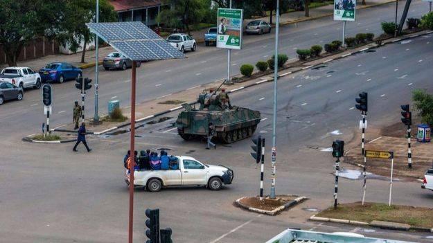 El Ejército toma el control en Zimbabue