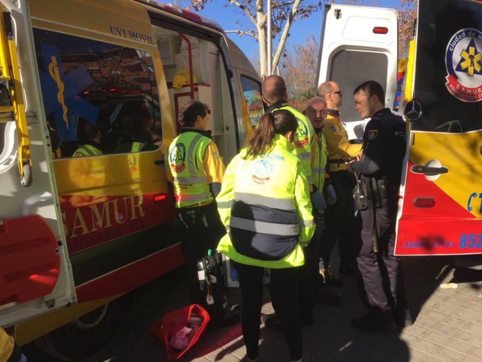 Hallado el cuerpo sin vida de un anciano en una pensión madrileña