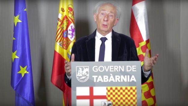 Albert Boadella, presidente de Tabarnia en el exilio